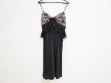 グレースクラス ドレス サイズ36 S レディース 黒×ピンク