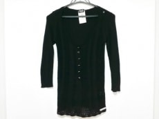 D&G(ディーアンドジー) 七分袖セーター サイズXS レディース美品  黒