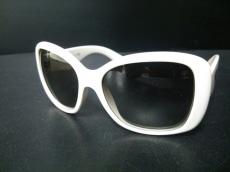 PRADA(プラダ) サングラス SPR32P 黒×白 プラスチック