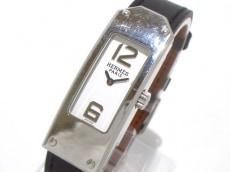 エルメス 腕時計 ケリーII KT1.210 レディース 革ベルト/□R 白