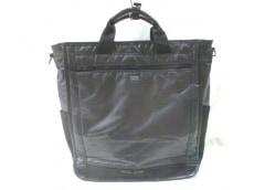 ポーター ハンドバッグ - 黒 PVC(塩化ビニール)×ナイロン