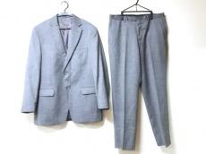 ヴェルサーチ メンズスーツ サイズ52 メンズ美品  黒×白 COLLECTION