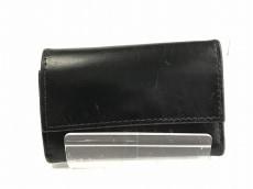 ホワイトハウスコックス キーケース 黒 6連フック レザー
