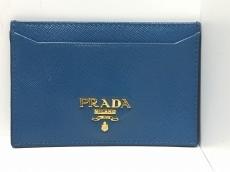 PRADA(プラダ) カードケース - 1M0208 ブルー レザー