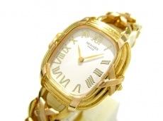 HERMES(エルメス) 腕時計 フォーブル - レディース 金無垢 白