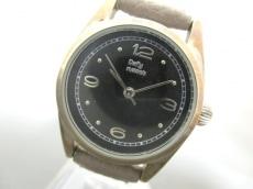 Daily russet(デイリーラシット)/腕時計