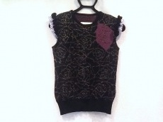 サカイ ノースリーブセーター サイズ38 M レディース美品  バラ/ラメ