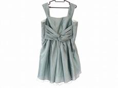 aimer(エメ) ドレス サイズ9 M レディース グリーン リボン/チュール