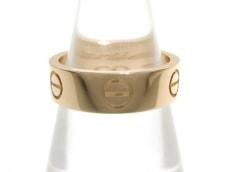 Cartier(カルティエ) リング 51美品  ラブ B4047151 K18PG