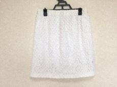 ヌメロ ヴェントゥーノ スカート サイズ38 M レディース美品  白