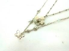 アナスイ ネックレス美品  金属素材×プラスチック×ラインストーン