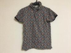 KAPITAL(キャピタル) 半袖ポロシャツ レディース ヤシの木/裏毛