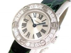 カルティエ 腕時計美品  ラブウォッチ WE800331 レディース シルバー