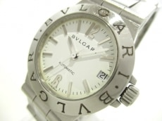 BVLGARI(ブルガリ) 腕時計 ディアゴノスポーツ LCV29S レディース 白