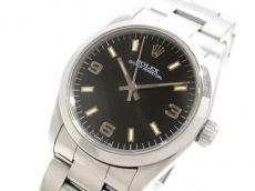 ロレックス 腕時計 オイスターパーペチュアル 67480 ユニセックス 黒
