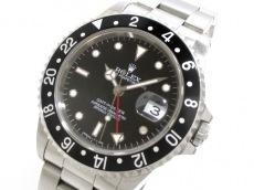ROLEX(ロレックス) 腕時計美品  GMTマスター 16700 メンズ 黒