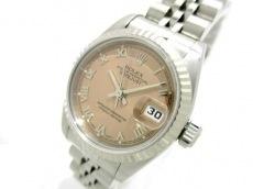 ROLEX(ロレックス) 腕時計 デイトジャスト 69174 レディース ピンク