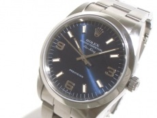 ROLEX(ロレックス) 腕時計美品  エアキング 14000M メンズ ブルー