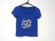 シーバイクロエ 半袖Tシャツ サイズ38 M レディース ブルー×マルチ