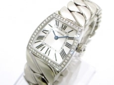 カルティエ 腕時計 ラドーニャSM WE60039G レディース シルバー