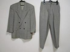 ATELIER SAB(アトリエサブ) ダブルスーツ メンズ カーキ×白×黒