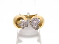 PonteVecchio(ポンテヴェキオ) リング美品  K18YG×ダイヤモンド