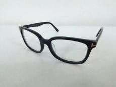 TOM FORD(トムフォード) メガネ TF5377F クリア×黒 プラスチック