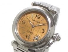 Cartier(カルティエ) 腕時計 パシャC W31024M7 メンズ ピンク