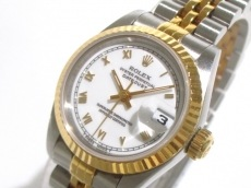 ROLEX(ロレックス) 腕時計 デイトジャスト 69173 レディース 白
