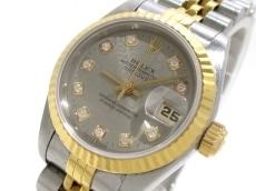 ROLEX(ロレックス) 腕時計 デイトジャスト 69173 レディース グレー