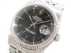 ROLEX(ロレックス) 腕時計 デイトジャスト 16234 メンズ 黒