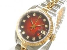 ロレックス 腕時計 デイトジャスト 69173G レディース ブラウン