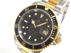ROLEX(ロレックス) 腕時計 サブマリーナデイト 16613 メンズ 黒