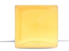 LOEWE(ロエベ) 2つ折り財布 - イエロー レザー