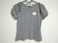 ルネ 半袖カットソー サイズ36 S レディース 黒×白 Relax/ボーダー