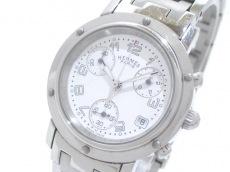 エルメス 腕時計 クリッパークロノ CL1.310 レディース クロノグラフ