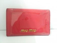 miumiu(ミュウミュウ) キーケース - ピンク 6連フック/リボン