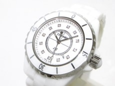 CHANEL(シャネル) 腕時計美品  J12 H1628 レディース 白