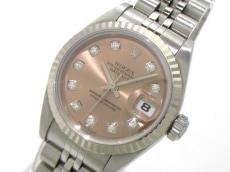 ROLEX(ロレックス) 腕時計 デイトジャスト 79174G レディース ピンク
