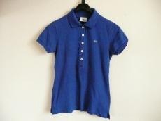 Lacoste(ラコステ) 半袖ポロシャツ サイズ40 M レディース ブルー