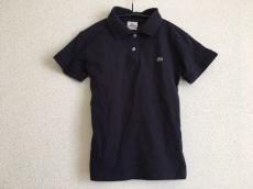 Lacoste(ラコステ) 半袖ポロシャツ サイズ36 S レディース 黒