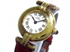 カルティエ 腕時計 ヴァンドーム - レディース 925 アイボリー