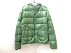 ヘルノ ダウンジャケット サイズ48 XL レディース美品  グリーン