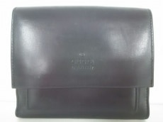GUCCI(グッチ) Wホック財布美品  - - 黒 レザー