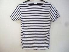 オーシバル 半袖Tシャツ サイズ2 M レディース美品  白×ネイビー