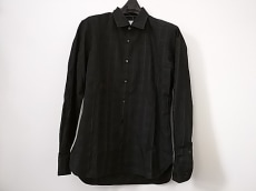 ランバンオンブルー 長袖シャツ サイズ48 XL メンズ美品  黒