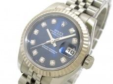 ロレックス 腕時計 デイトジャスト 179174G レディース ネイビー