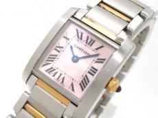 カルティエ 腕時計 タンクフランセーズSM W51027Q4 レディース