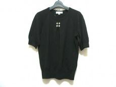 CELINE(セリーヌ) 半袖セーター サイズS レディース 黒