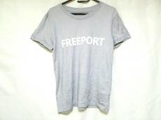 アッパーハイツ 半袖Tシャツ サイズ1 S レディース ライトグレー×白